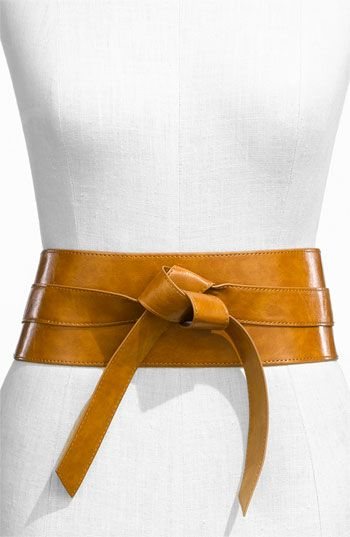 with the oriental influence hitting FW11/12 trends, this obi belt sounds like a great pick
