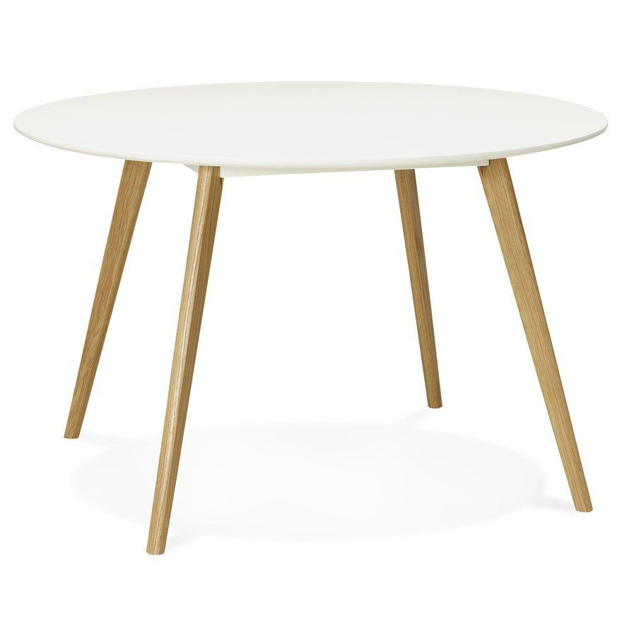 Table Ronde Extensible Blanche Ikea Liatorp Salle A Manger