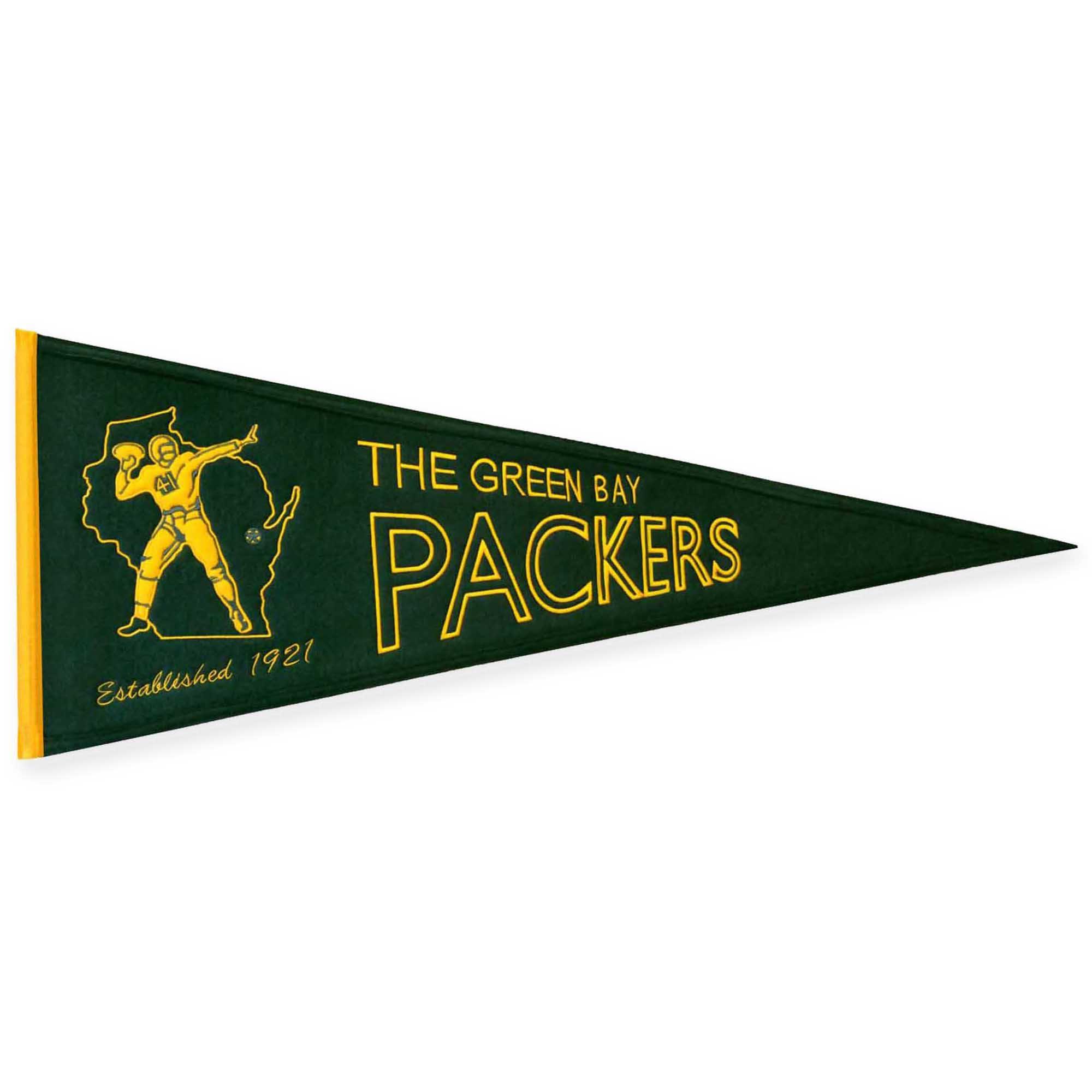 Nfl Green Bay Packers Throwback Banner Nfl Packers Nfl Green Bay Green Bay Packers