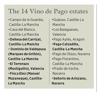 Vino De Pago When Is A Pago Not A Pago Sommelier Spain Vino