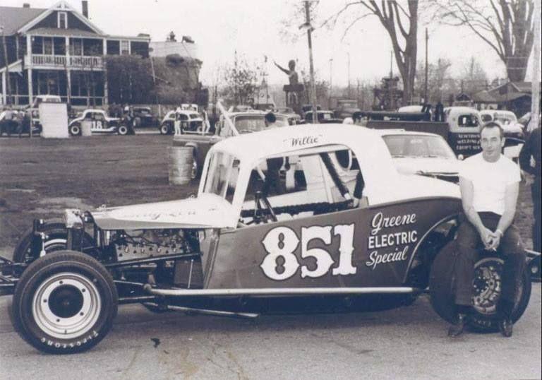 Willie Beardsley Danbury Racearena Ct Stock Car Racing Vintage Race Car Stock Car