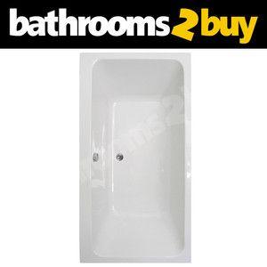 Rieti White 1800 X 1100 Double Ended Acrylic Straight Bathroom Bath Ebay Bathtubs For Sale Bathroom Bath Straight Baths