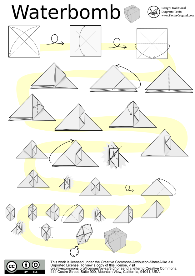 Minecraft Block Origami Origami Origami Instructions Dragon