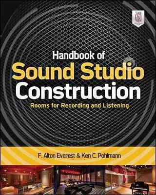 Awesome ... Spaces Design And Build Your Own Audiophile Grade Recording And  Playback Environments Using Proven, Cost Effective Plans And Techniques.  Handbook Of S