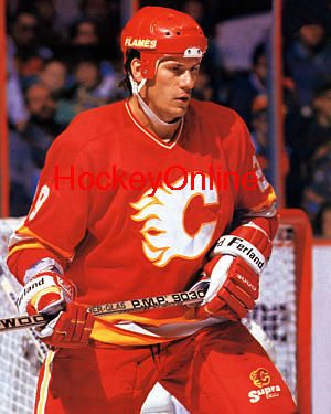 Joel Otto Nhl Hockey Players Calgary Flames Nhl Players