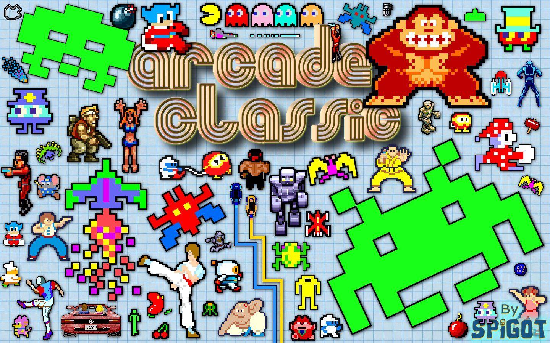 Arcade Classic Wallpaper Classic wallpaper, Vintage