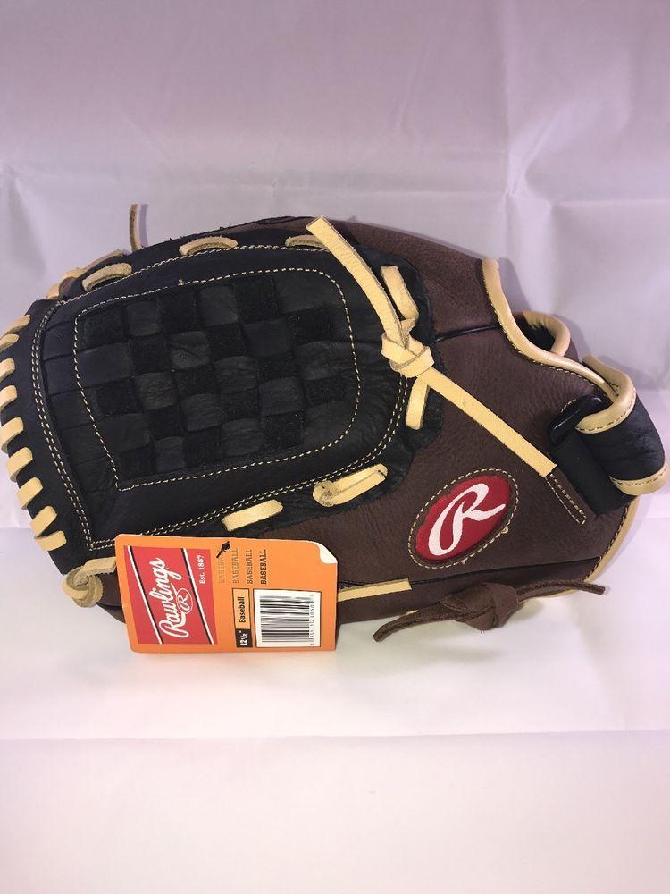 Rawlings Lefty Baseball Glove Rbg36bc 12 5in Brown Black Rawlings Baseball Glove Sport Outfit Men Ebay Clothes