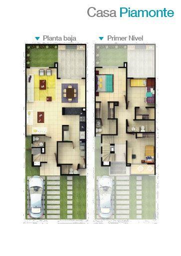 Planos de casas plantas arquitect nicas de casas y for Planos de casas 1 planta