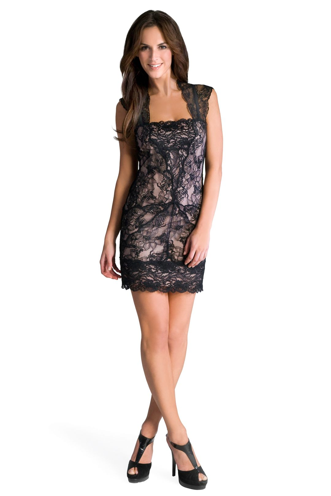 Pretty Woman Lace Dress | Fashionista | Pinterest