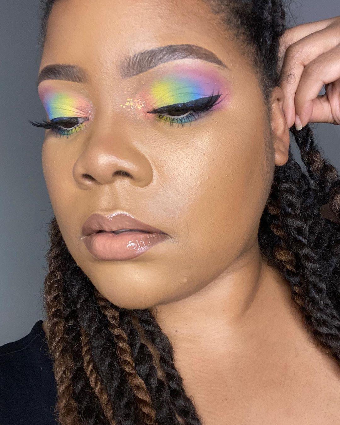 Caz fhey Pastel goth makeup, Pastel makeup, Kawaii makeup