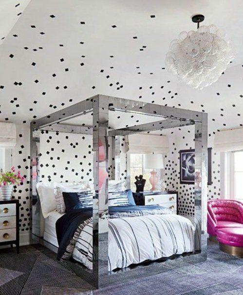schlafzimmer wandgestaltung kreative ideen als inspiration k che schlafzimmer modernes. Black Bedroom Furniture Sets. Home Design Ideas