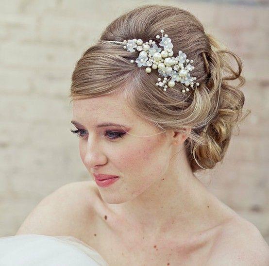 32 Magnificient Bridal Hair Pieces | Thin hair, Hair inspiration and ...