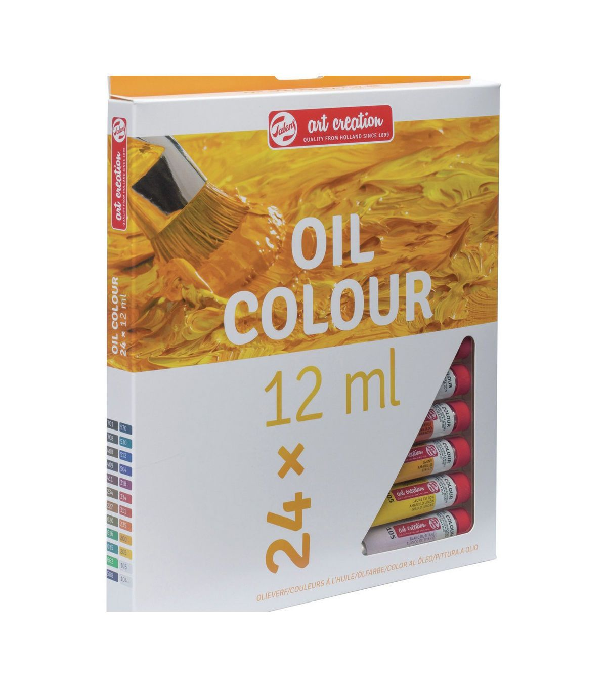 Talens Art Creation 24 Pk 0 4 Fl Oz Oil Colour Paint Oil Paint