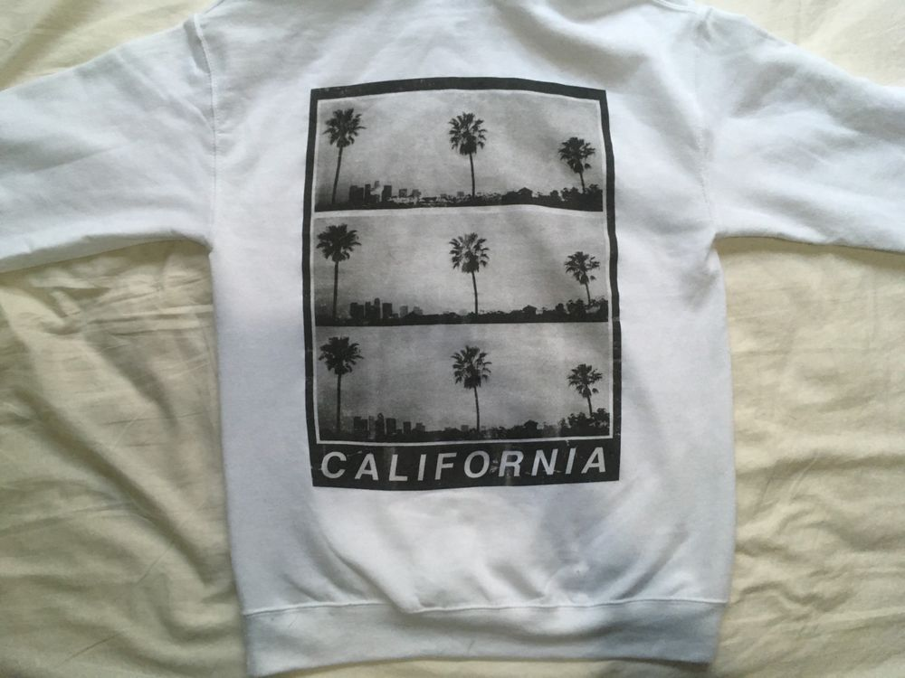 California Hoodie Men S Small New Artist Union Clothing Co