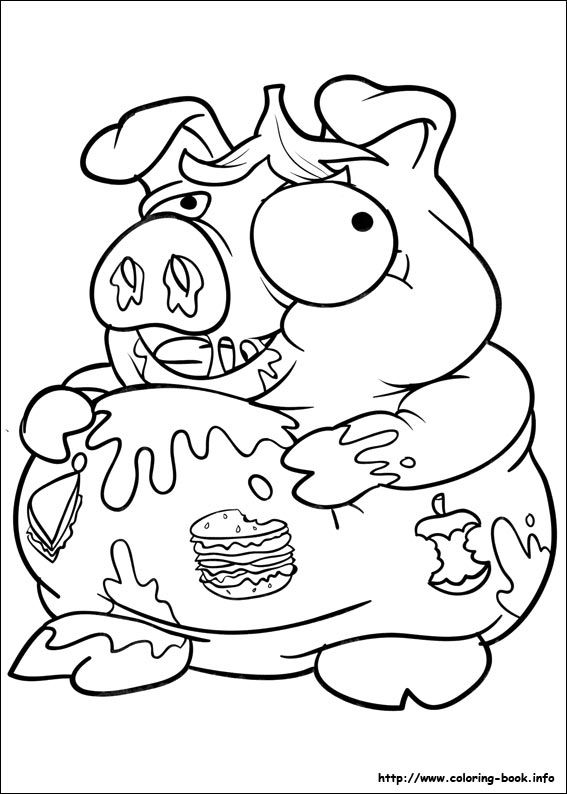 The trash pack coloring picture kids coloring pages for Trash pack coloring pages to print
