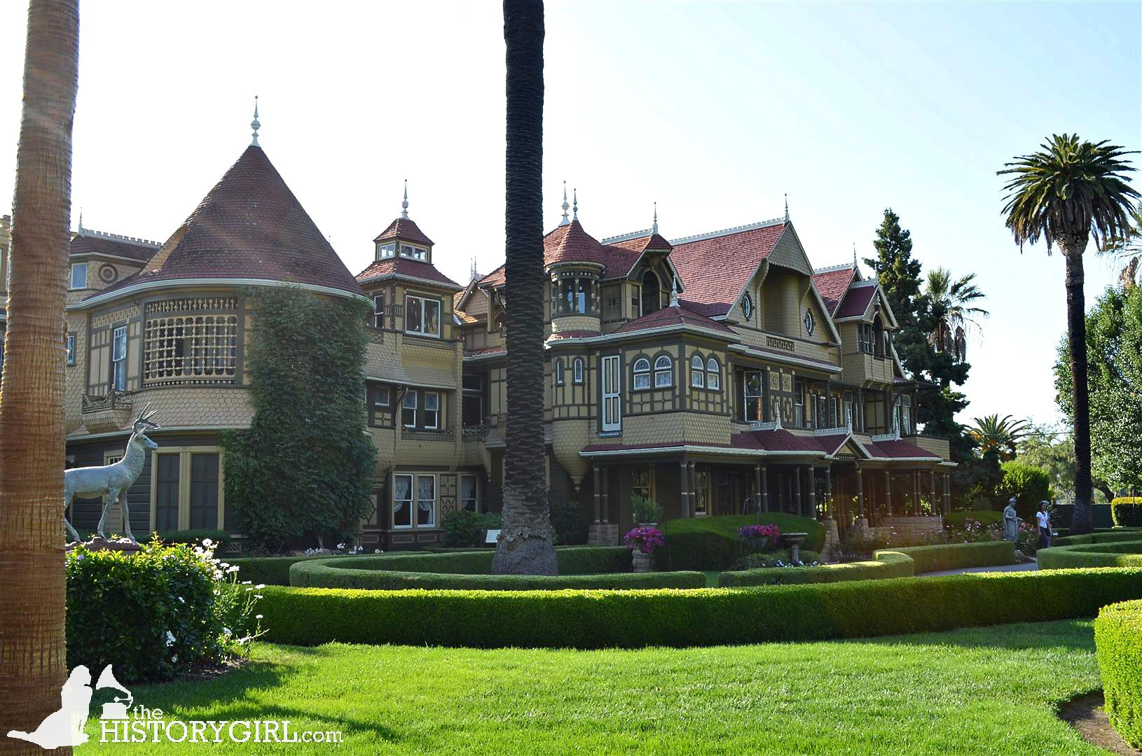 the 160 room winchester mystery house in san jose ca the home rh pinterest com