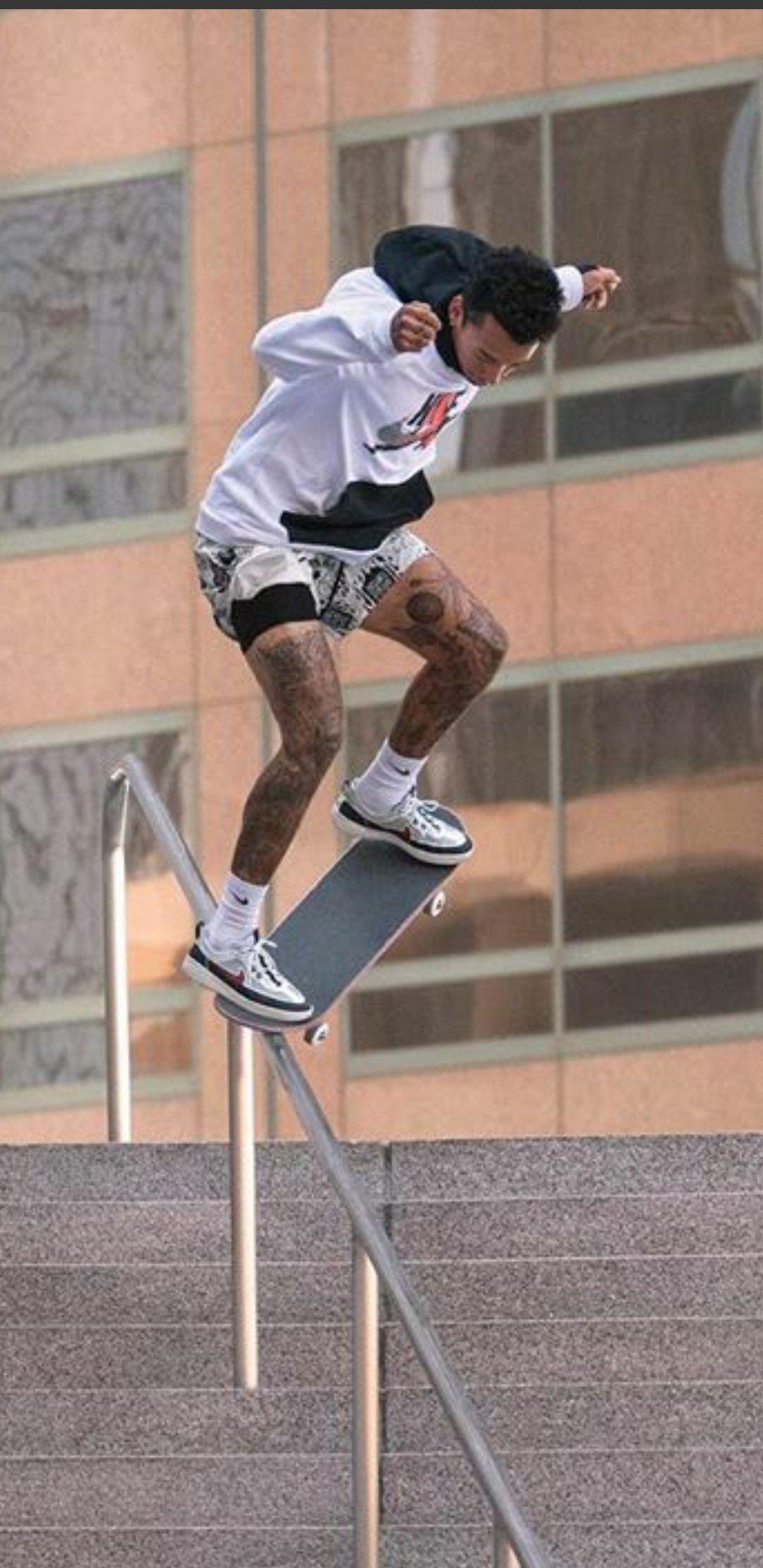 Nike SB Nyjah Free 2 Skate Shoe. Nike GB in 2020 Skate
