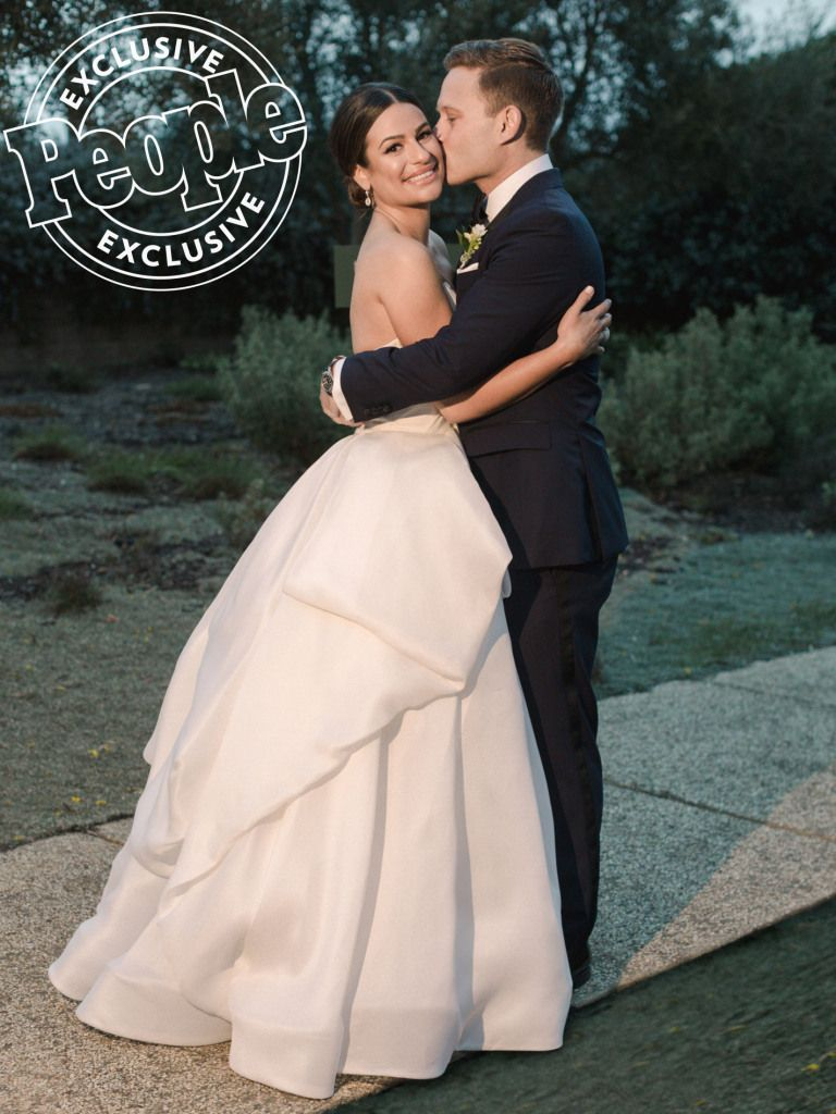 The Most Stunning Photos from Lea Michele's Wedding to