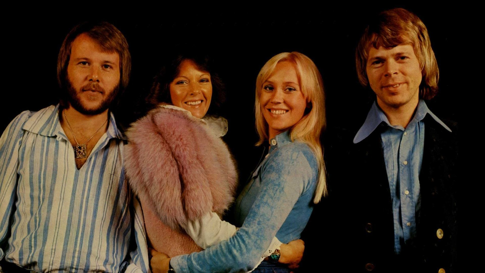 Abba Abba Band Member Dies 2017 Music Group Abba Coat Fur