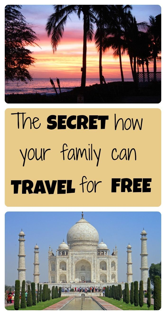 Free advice on how YOU can travel for free TOO is part of  -  cheap!