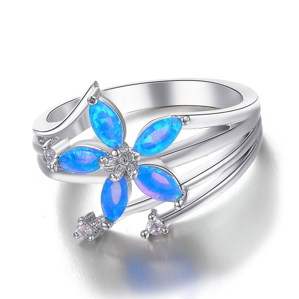 Opal Wedding Rings 5
