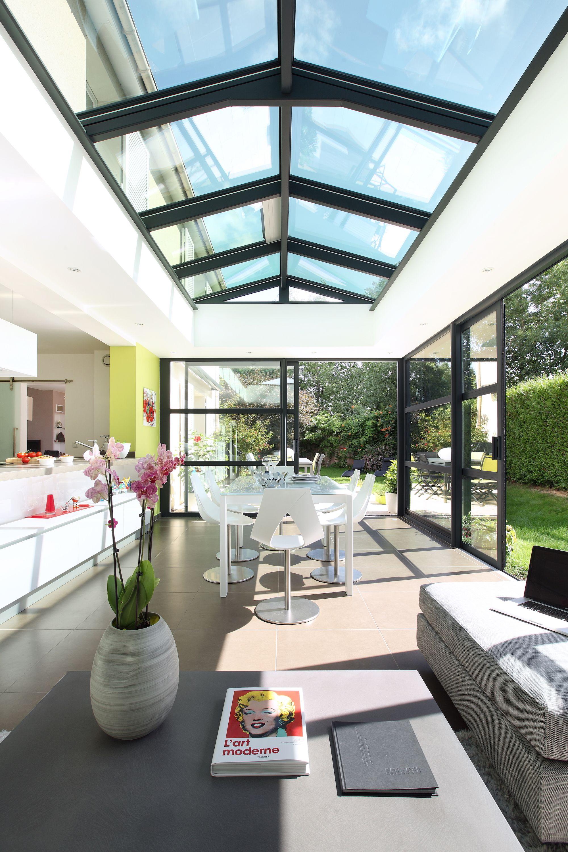 Vérand'art, fabricant de véranda privilégie la lumière et les beaux espaces #véranda #veranda # ...