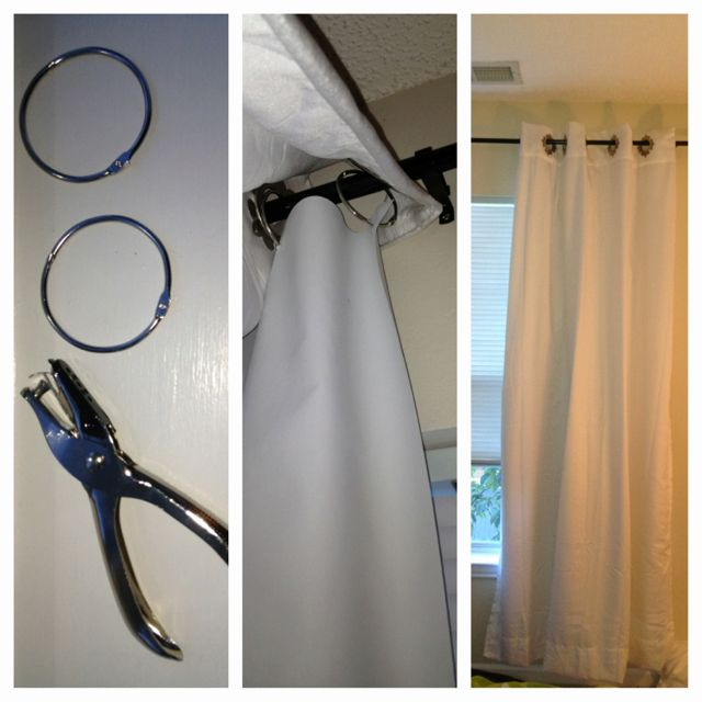 Fabric Panels To Cover Storage Area : Diy blackout curtain liners buy liner