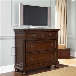 porter furniture collection | Ashley Furniture Porter Media Chest ...