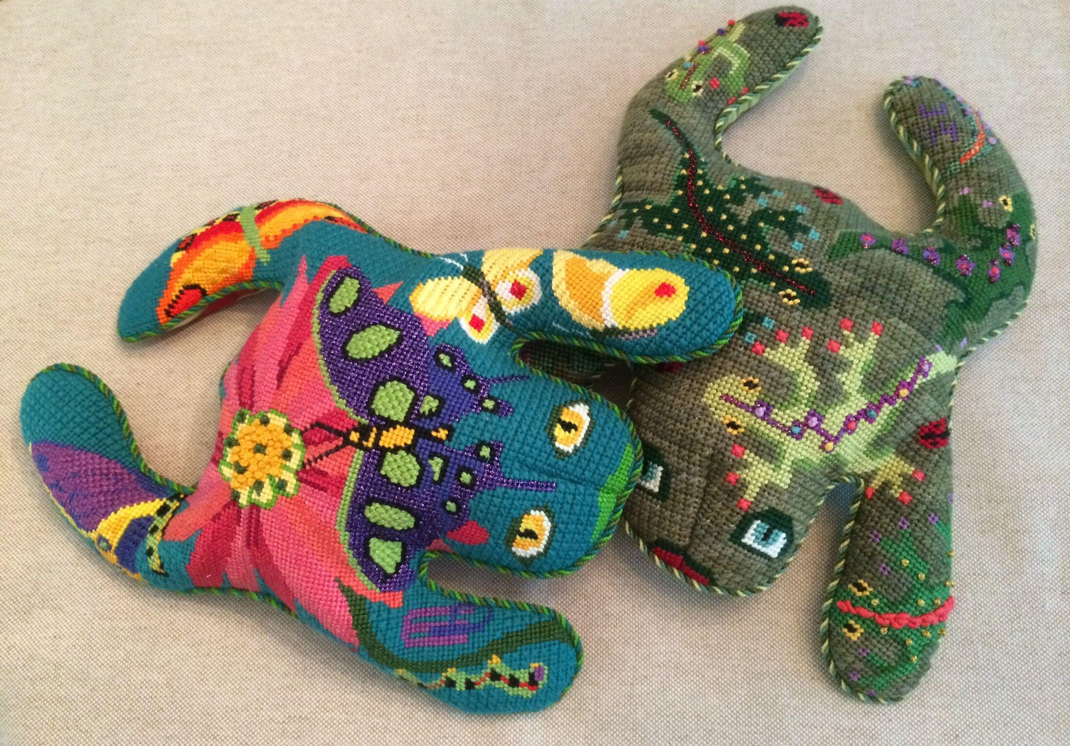 Pleasant Bean Bag Frogs On Their Way Back To Key West Canvases By Frankydiablos Diy Chair Ideas Frankydiabloscom