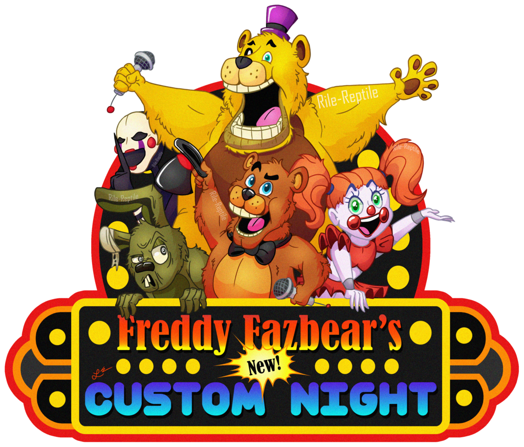 Freddy Fazbears S New Custom Night Poster By Rile Reptile Fnaf Drawings Night Freddy