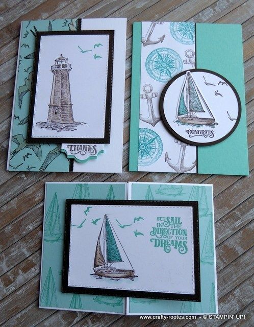 Sailing home for July classes - Crafty roots - Beautiful cards with sails ... - #Beautiful #Cards #Classes #Crafty #home #July #Roots #SAILING #sails