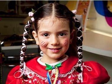 Penteado Infantil para Festa Junina 2013 | Melhores Makes