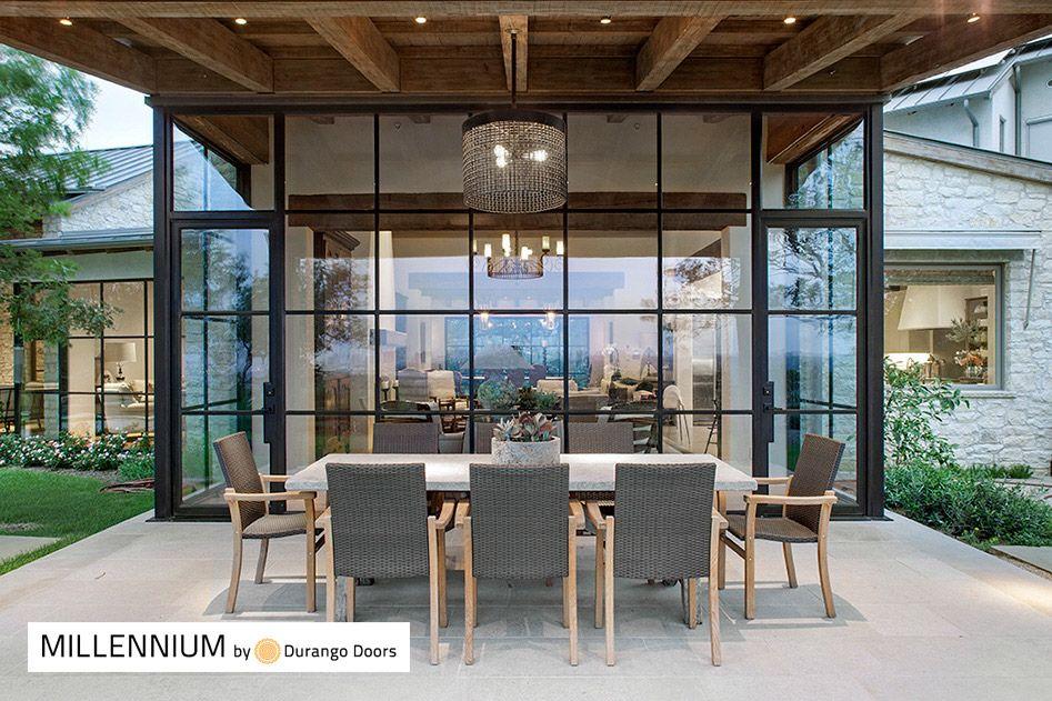 Contemporary Steel Windows Doors In Oklahoma House Exterior Door Glass Design House Design