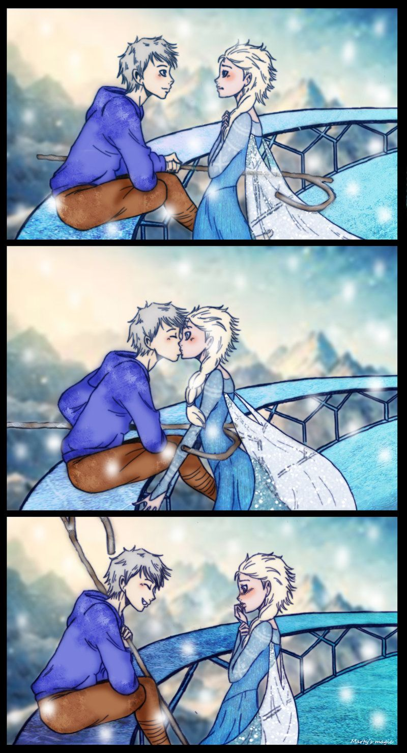 Jackelsa surprise kiss by deviart4ever on deviantart frozens jackelsa surprise kiss by deviart4ever on deviantart frozens elsa and rise of the guardians jack frost thecheapjerseys Choice Image