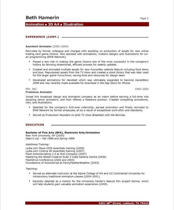 View Resume Samples Free