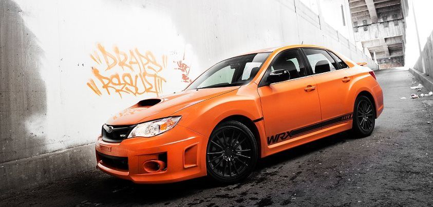 Wrx Sti 0 60 >> Pumpkin Colored 2013 Subaru Impreza Wrx Special Edition