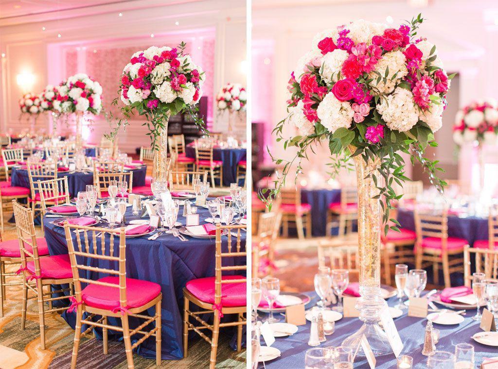 Pink And Navy Blue Wedding Ideas Deweddingjpg