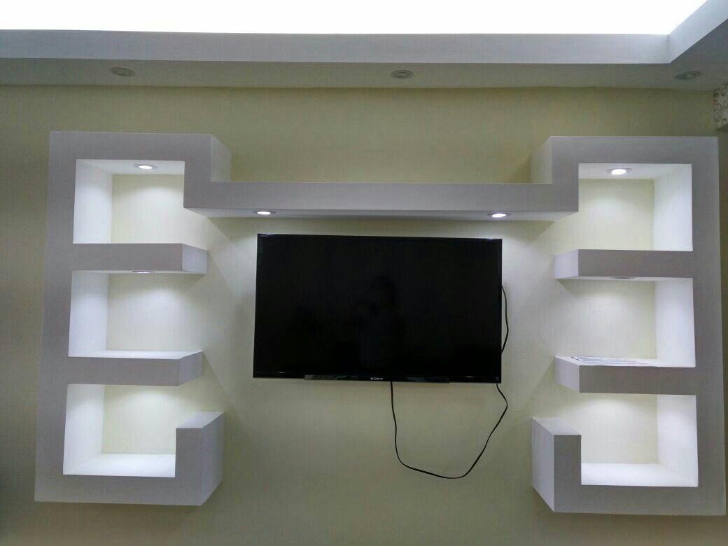 Mueble para tv sheetrock iluminaci n sheetrock en r d - Iluminacion para muebles ...
