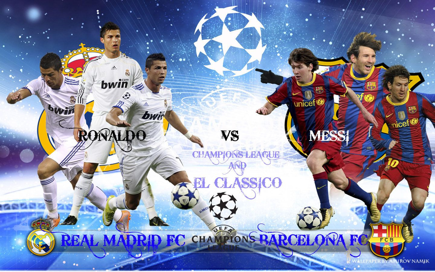 Real Madrid Vs Barcelona Wallpaper Free Download