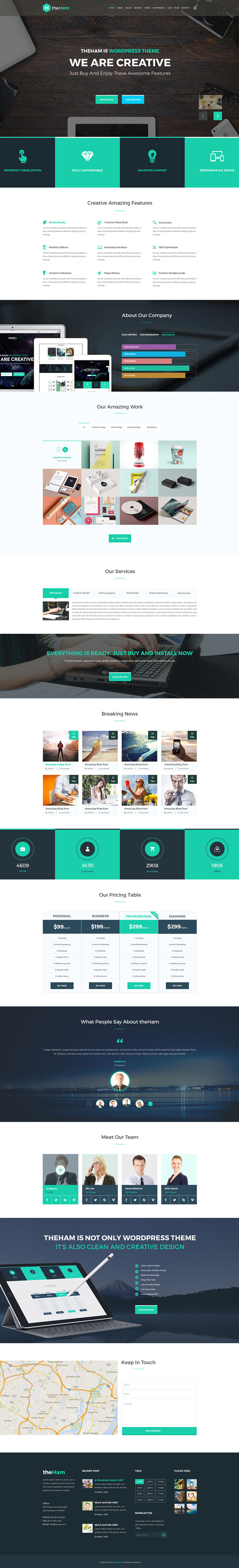 15 Free Responsive Psd Website Templates Psd Templates Website Template Web Design Agency