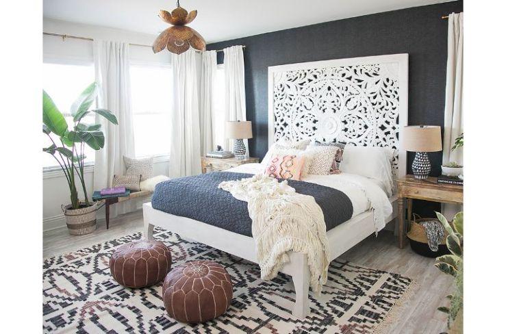 Saai bed? ga voor een cool hoofdbord schlafzimmer bedroom