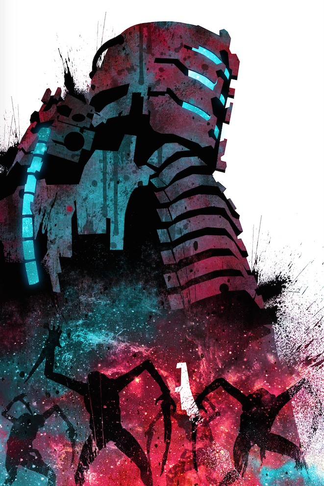 Screen Shot 2017 04 25 At 3 42 00 Pm Png Space Art Dead Space Space Poster