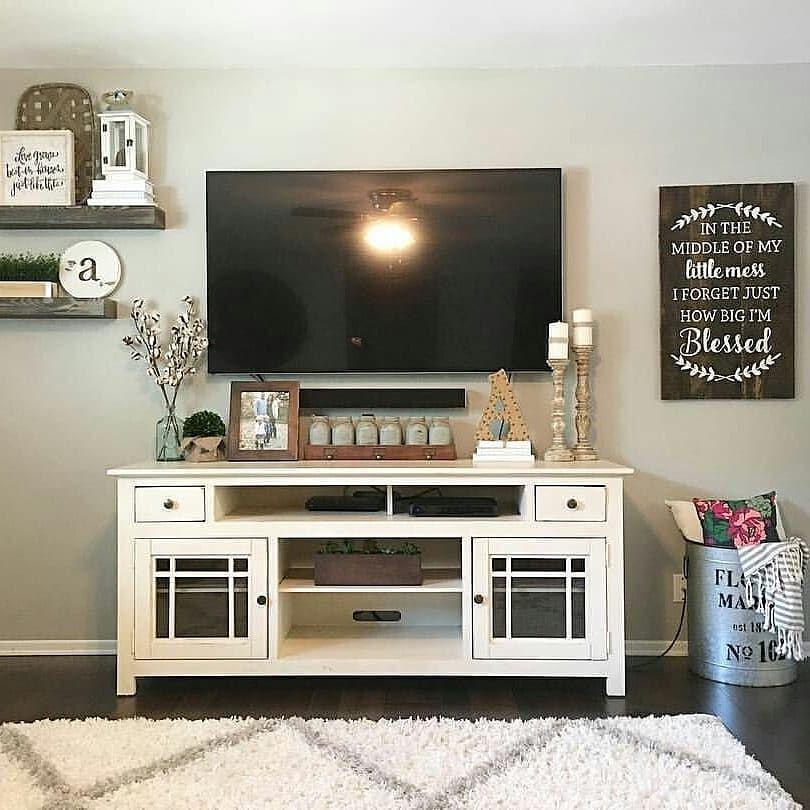 Kami Siap Melayani Kebutuhan Furniture Anda Disini Anda Dapat Request Custom Sesuai Keinginan Anda Agar Farm House Living Room Living Room Tv Stand Home Decor