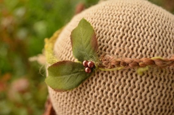 Newborn tieback, photography prop, nature, natural, forest
