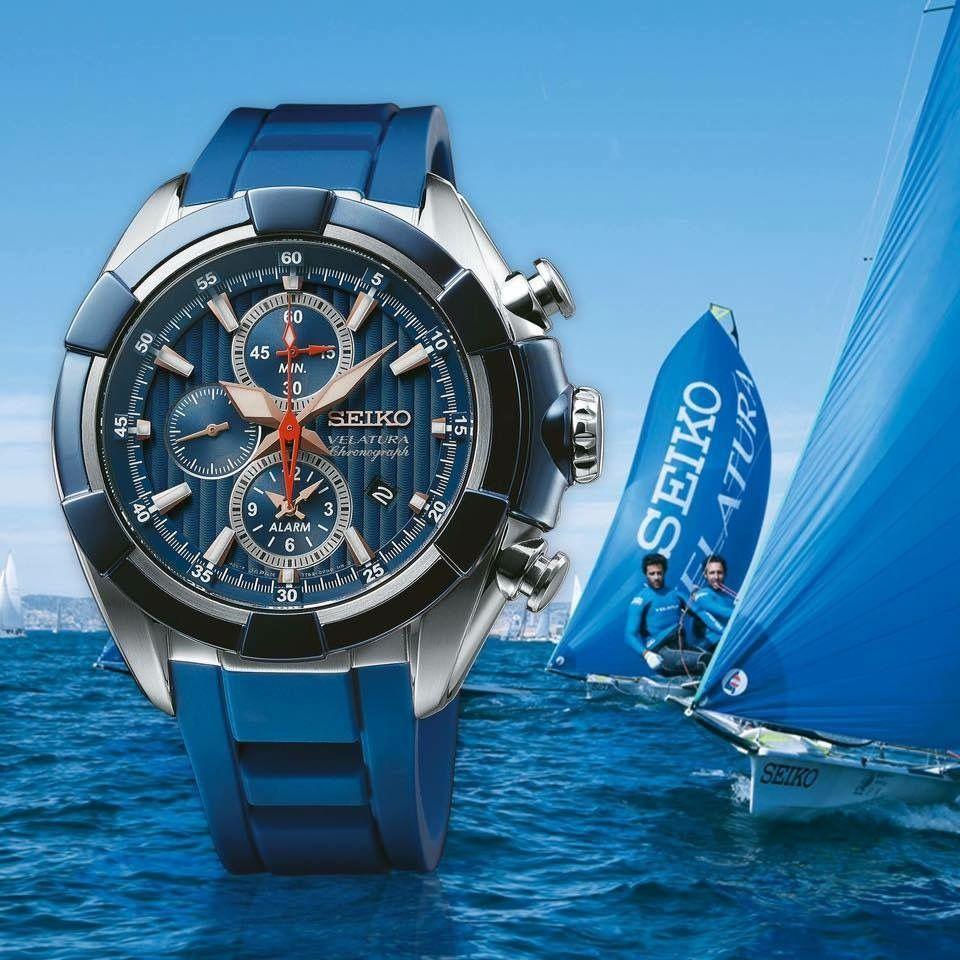 Seiko Velatura Snaf59p1 47mm Alarm Chronograph Safir Cam Erkek Kol Saat Snaf59p Snaf59 Ozensaat Watches Watch Blue Izmir 8431242893617 1600 Tl