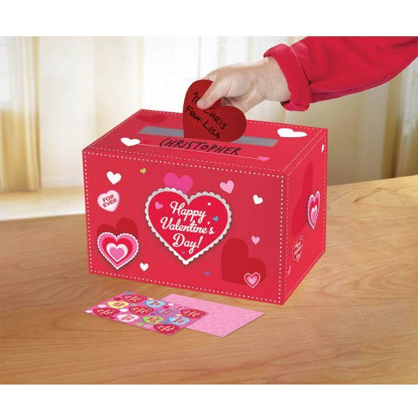 Diy valentine mailbox kit diy valentine craft and valentine crafts set up the perfect place to capture hearts with this fun do it yourself solutioingenieria Choice Image