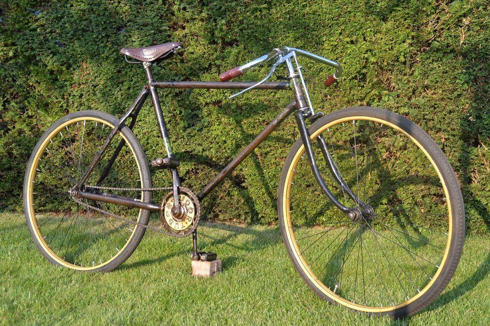 Halbrenner 28 Zoll 20er Jahre Oldtimer Fahrrad Altes Fahrrad