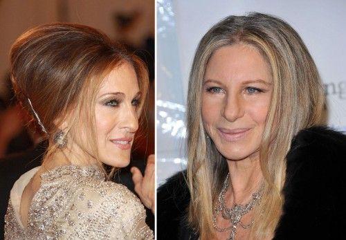Sarah Jessica Parker (FN) and Barbra Streisand (SD)