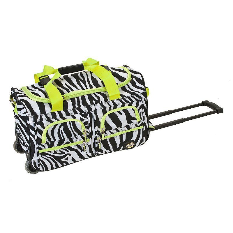 d31cfd721b Rockland 22-Inch Rolling Duffel Bag