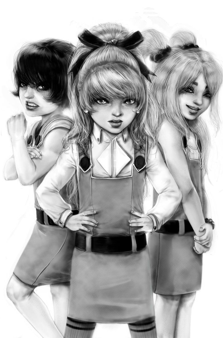 realistic powerpuff girls by rossowinch powerpuff girls rowdyruff